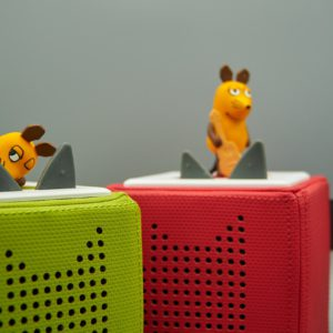 Can Children Learn a Second Language through Audio Toys?